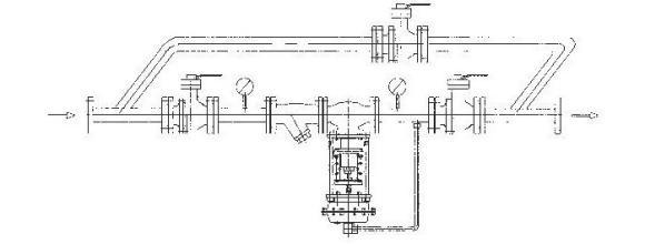 广泛应用于气体,液体及蒸汽介质减压稳压或泄压稳压的自动控制.