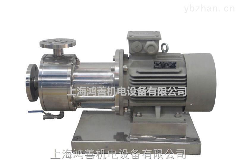 HRB-单级管线式乳化泵