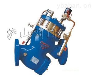 YQ98006活塞式电磁控制阀-水利控制阀
