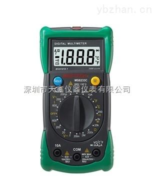 华谊MS8233C数字手持多用表