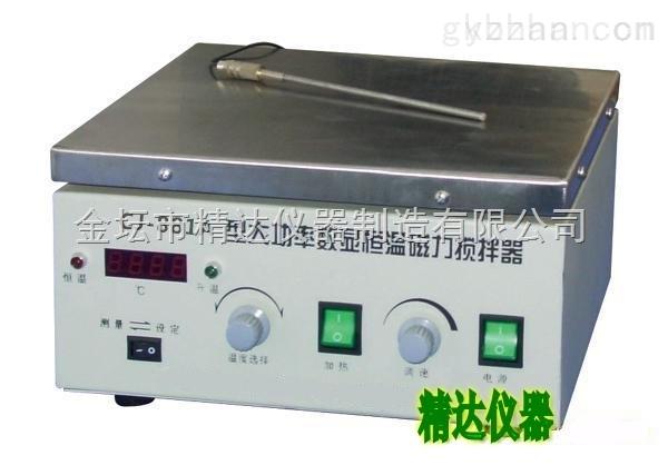 CJ-881A-數顯恒溫磁力加熱攪拌器