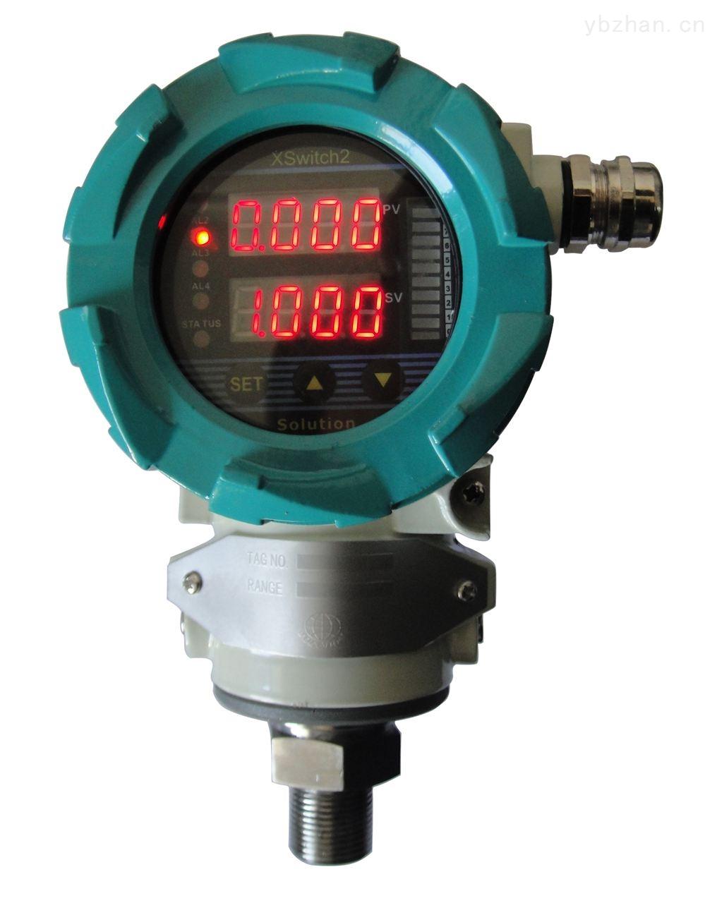 美国斯卢森(Solution)智能压力变送控制器-压力变送器-显示仪表