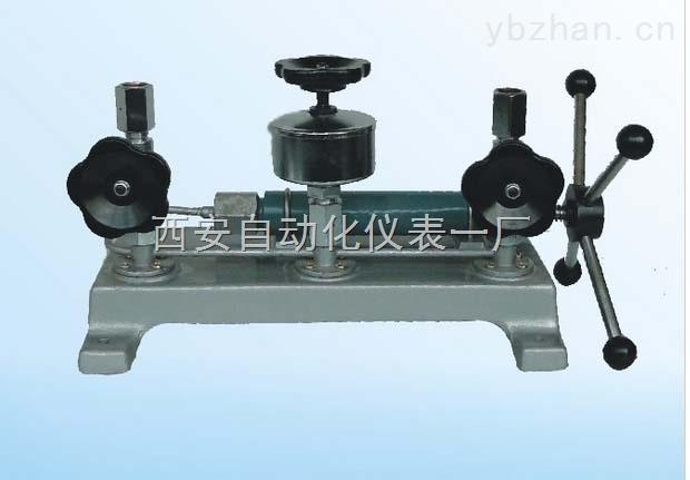 271.01压力表校验器-西安自动化仪表一厂