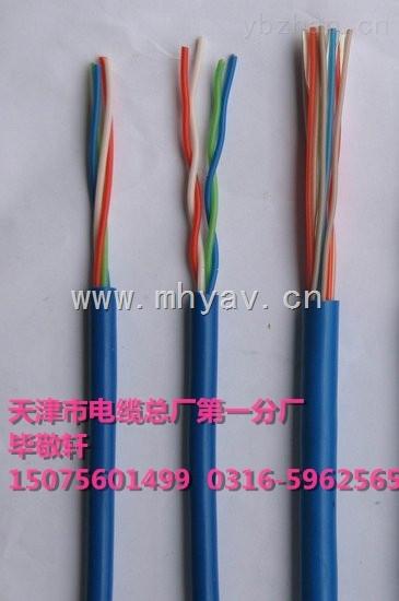 煤矿用阻燃监控电缆MHYV 1*4*0.75 1*4*1.0