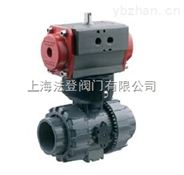 现货供应意大利原装进品FIP气动塑料球阀 PP、UPVC、PVDF材质