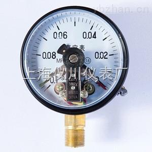 真空电接点压力表