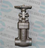 鍛鋼截止閥承插焊J61H