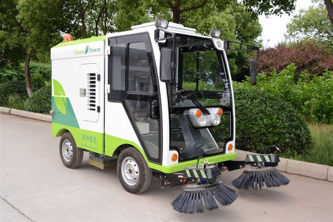 天津道路清扫车 市政扫路车 电动驾驶式扫地车