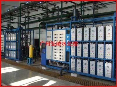 福建福州客戶-40T/H工業EDI超純水設備