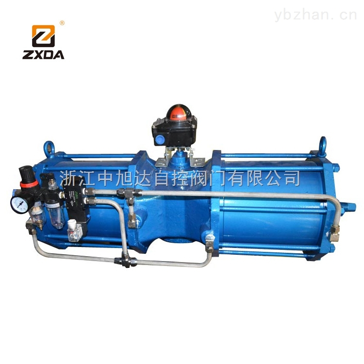 ZXDA大扭矩AW气动执行器