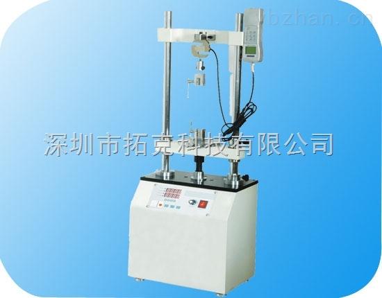 HDD-2K電動雙柱立式機臺KTE凱特電動拉力試驗機/推拉力測試臺 可調速