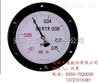 天康不锈钢压力表Y-153B