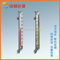 侧装式磁翻板液位计 法兰连接储罐液位测量 带电信号输出信号 浮子耐高压质量上乘