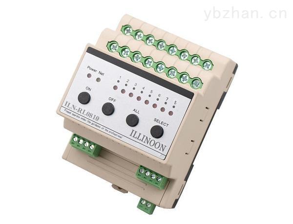 ILN-RL0810-智能继电器模块8路10A开关驱动模块智能灯光模块智能照明模块