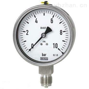 耐震電接點隔膜壓力表