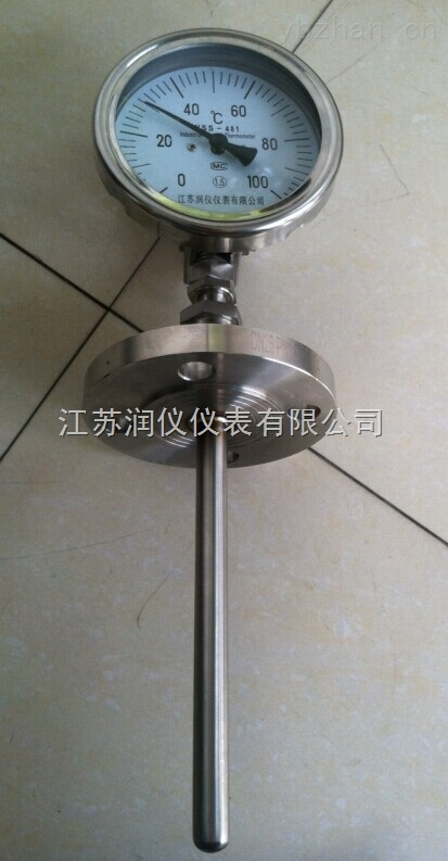 WSS-481-萬向不銹鋼雙金屬溫度計