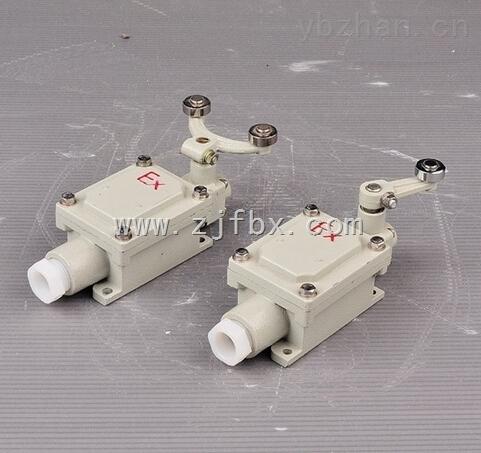 dlxk-15系列防爆行程开关由驱动头进行位移来决定电路通断的防爆开关