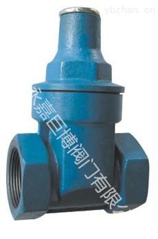 U11SFM內螺紋柱塞閥/內螺紋柱塞閥生產廠家