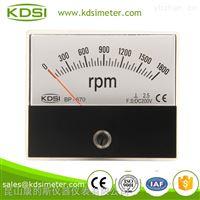 指針式直流電壓表轉速表 BP-670 DC200V 1800RPM