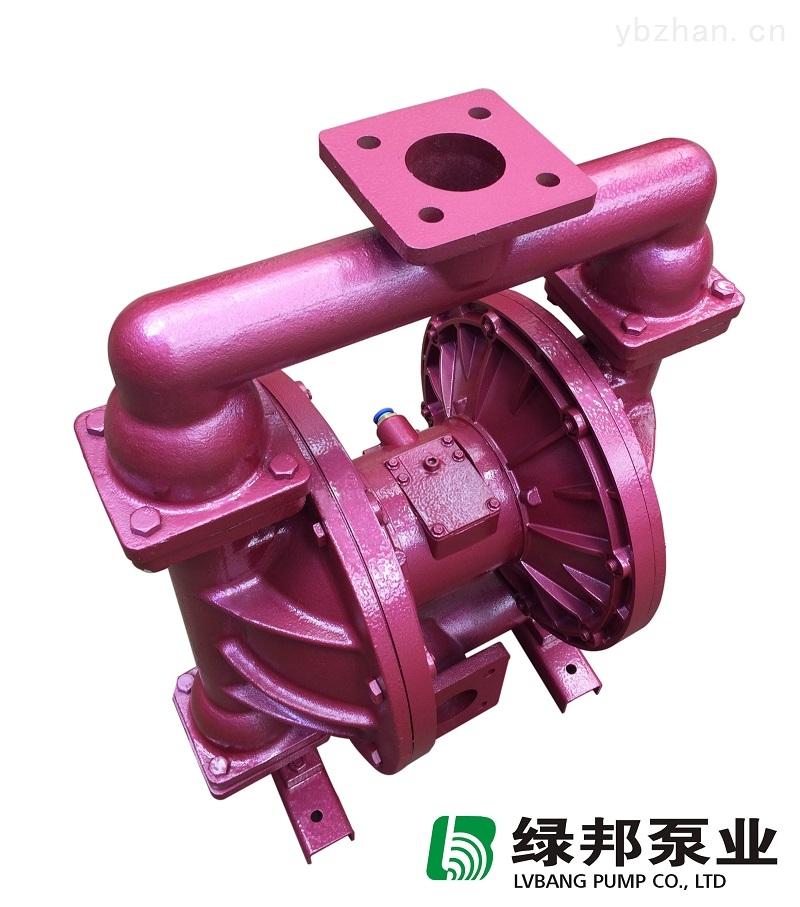 永嘉第三代铸铁气动隔膜泵