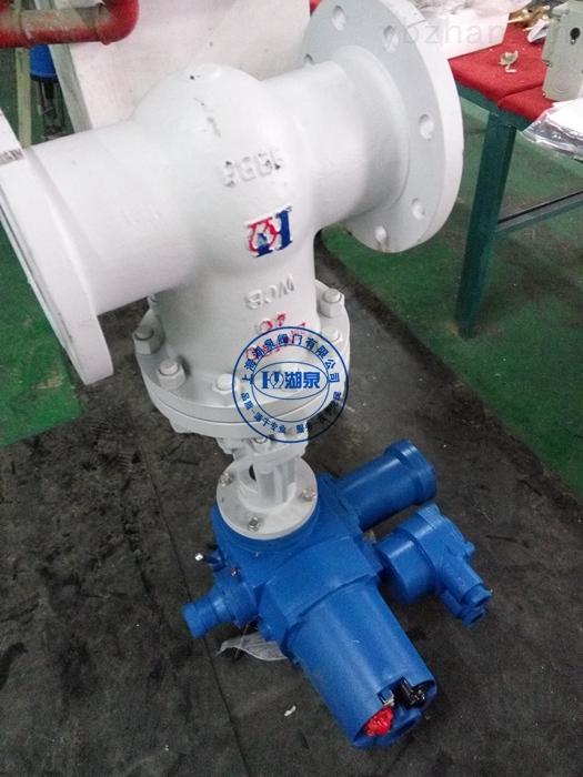 電動防爆礦用閘閥甲烷爆炸性氣體介質專用