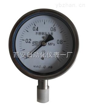 YTF-60/YTF-100全不锈钢压力表