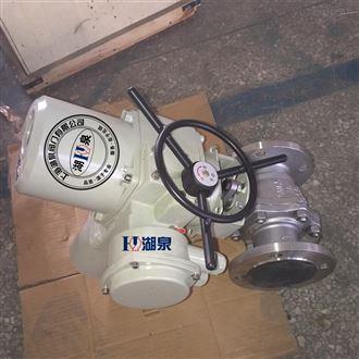 铸钢电动法兰高压球阀