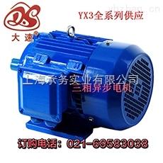 上海大速大功率電機YX3-132S1-2--5.5kw