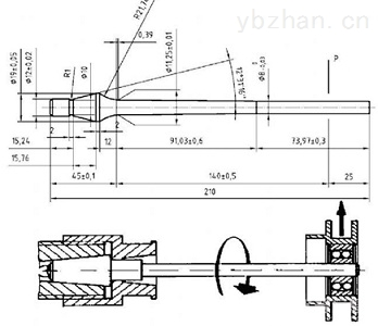 WPX-1500-出售旋转弯曲疲劳试验机带原理图