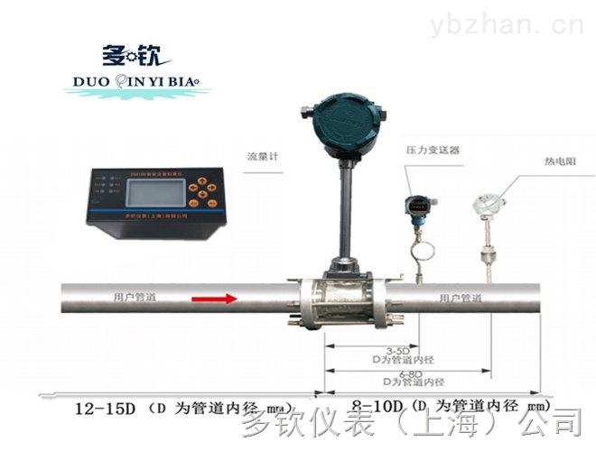 DVS-多欽儀表DN250蒸汽流量計