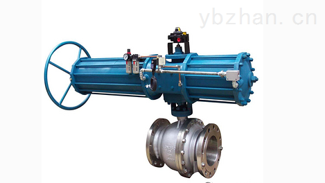 Q647-上海氣動固定式球閥