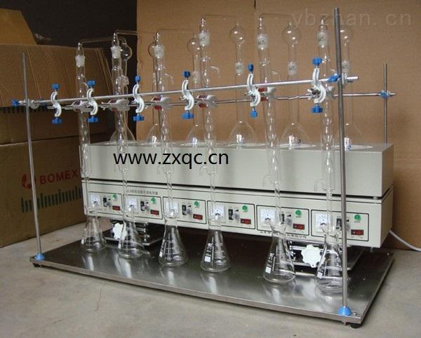 氨氮测定装置 (金牌优势六联不锈钢) 型号:TH48YNT