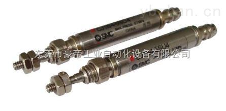 SMC針形氣缸,不銹鋼迷你氣缸CDJ2D16-5/10/15/20/25/30/50/75/100/125/150-B