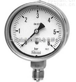 labom卫生型压力表型号BH5-高质量卡环式壳体DN100,符合EN 837-1