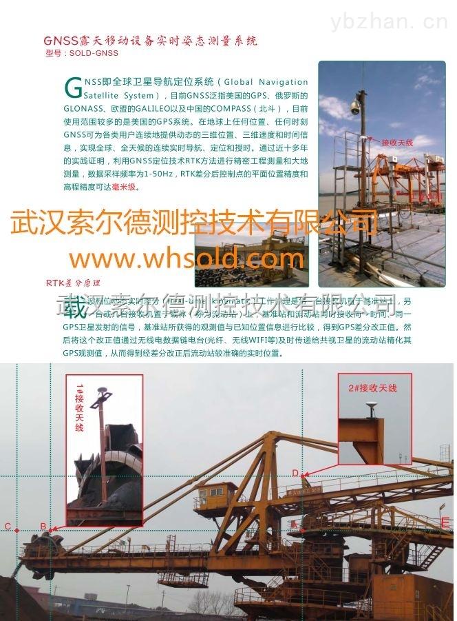武汉斗轮式堆取料机定位系统 gps定位自动控制系统