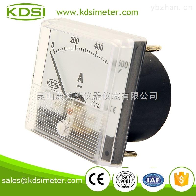 电焊机专用指针式直流电流表 bp-60n dc600a接分流器