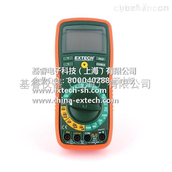 EXTECH EX430-NIST 数字万用表,EX430-NIST 自动量程数字万用表