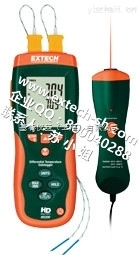 EXTECH HD200 红外测温仪,HD200 差示温度计数据记录仪