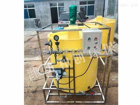 3万吨水厂絮凝剂投加量/PAC水处理设备厂家