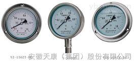 不銹鋼耐震隔膜壓力表ytnp-100