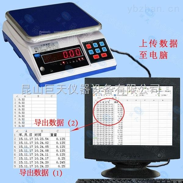 ERP系统电子秤,连接电脑对接ERP保存上传数据电子称