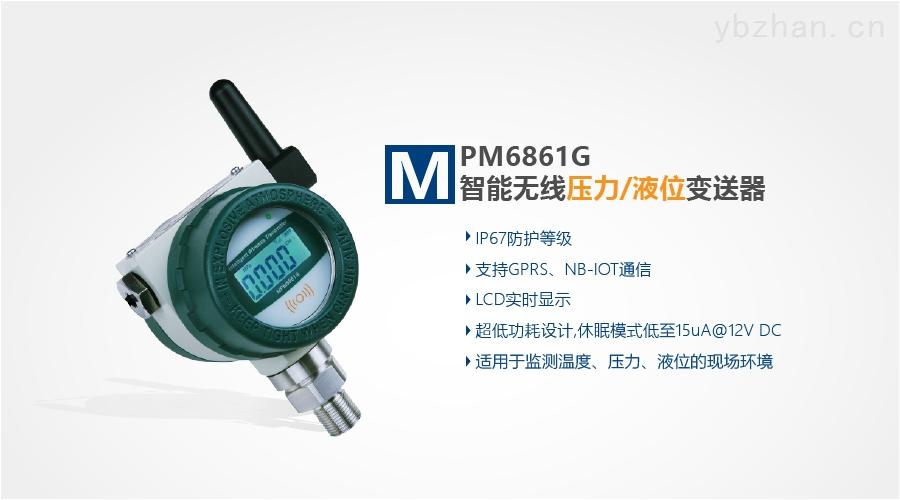 MPM6861G(W)-智能無線壓力(液位)變送器