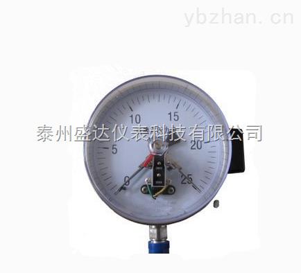 优质供应Y-100不锈钢高精度 电接点压力