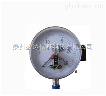 Y-100Y-100优质供应不锈钢高精度 电接点压力盛达
