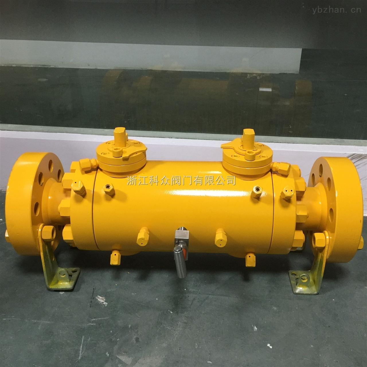 DBB-雙排泄雙阻塞的球閥,DBB出口閥門