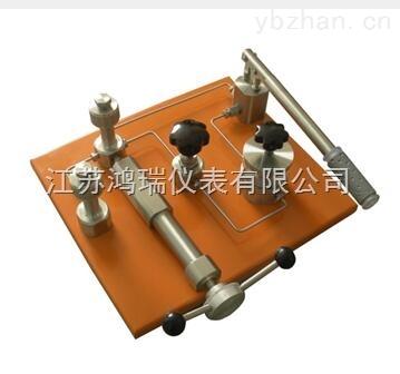 YFT-60A(B)液压台式压力源(泵)水压源
