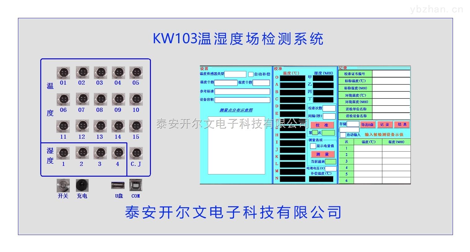 智能温湿度场自动测试系统,多路温湿度场测试系统