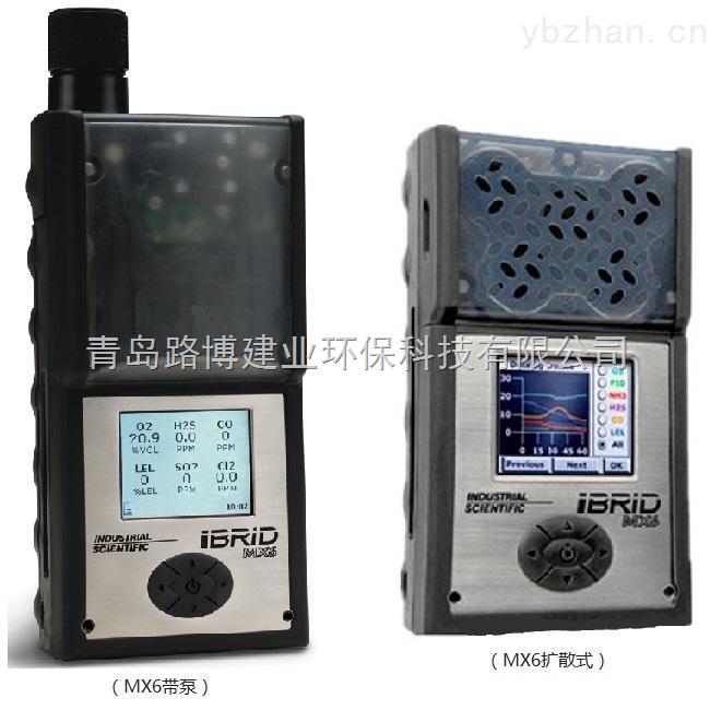 MX6-52萬組超大容量數據記錄MX6復合氣體檢測儀