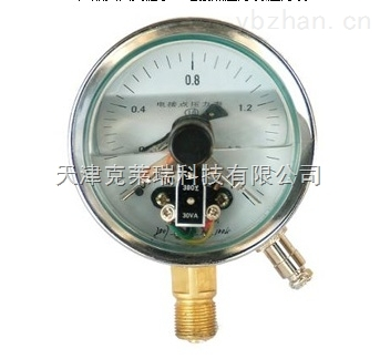 电接点压力表,轴向指针压力表