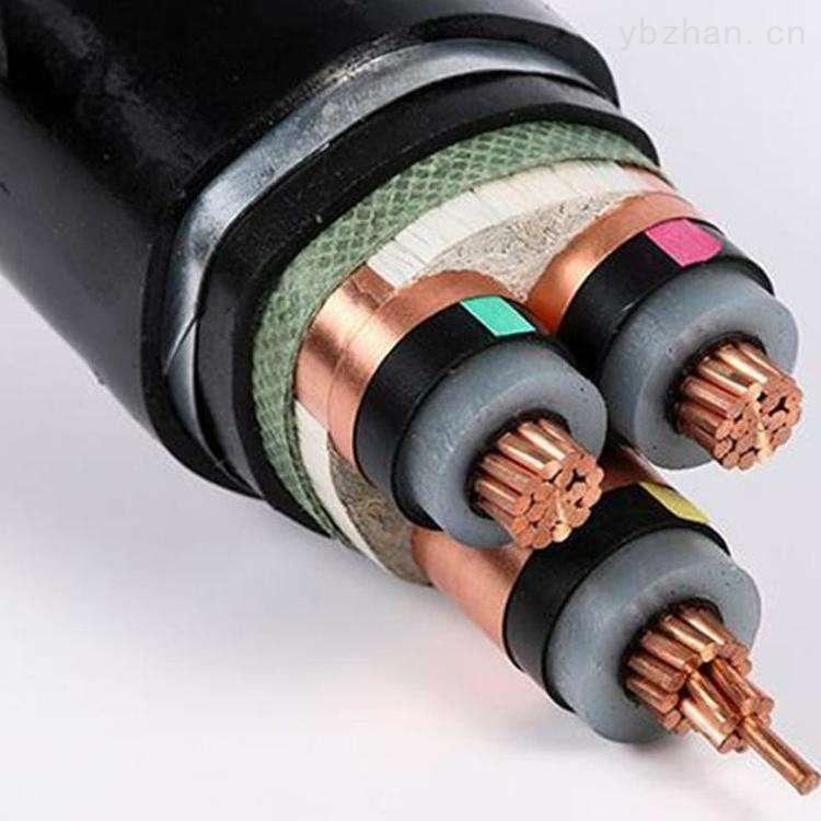 YJV22-10KV電纜結構圖 中低壓電力電纜 YJV22